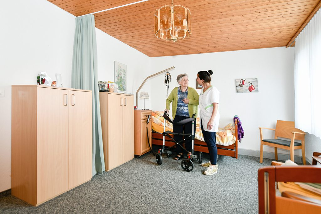 Pflegewohngruppe Hegi Zimmer